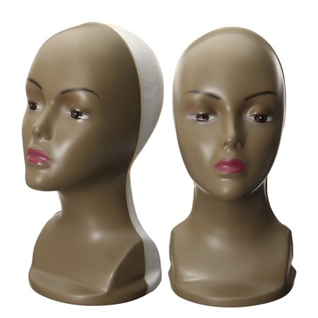 Female Wig Hair Hat Foam Display Plastic Styrofoam Mannequin Head Model Stand