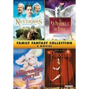 Family Fantasy Collection: Neverwas   A Wrinkle In Time   The Neverending Story III   Pinocchio (Widescreen) by