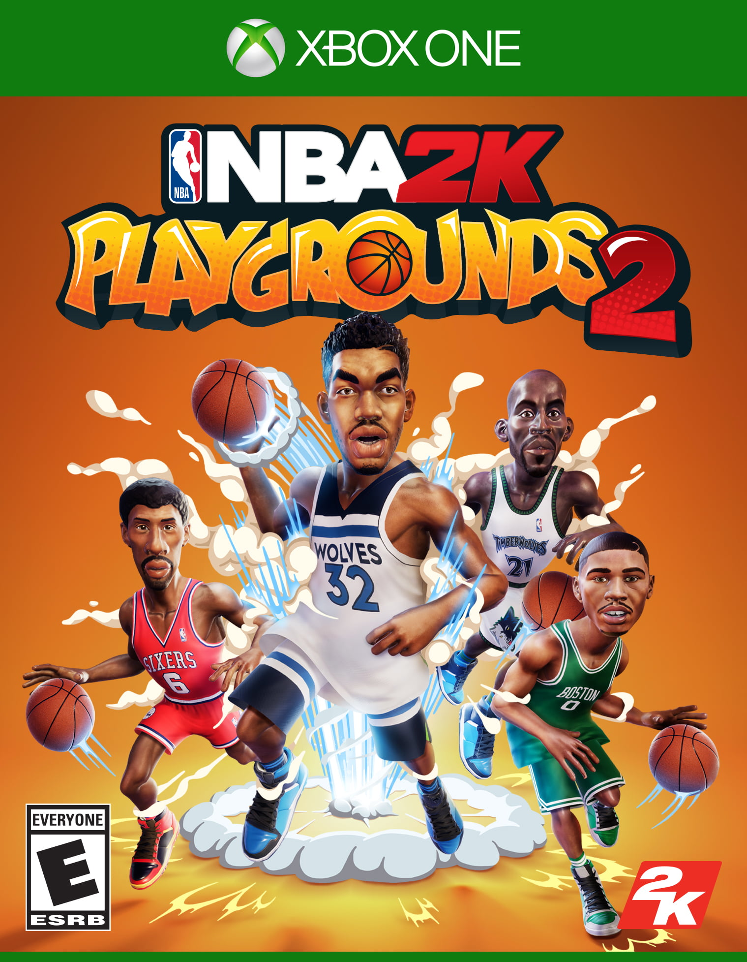 NBA 2K Playgrounds 2, 2K, Xbox One, 710425593628