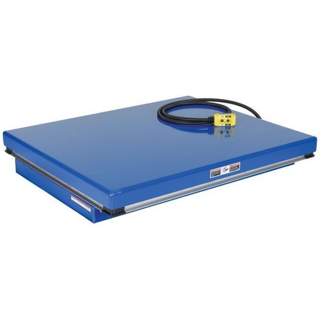 Vestil AHLT-4048-3-43 Air-Hydra Scissor Lift Table, 40 x 48 in. 3000 lbs by