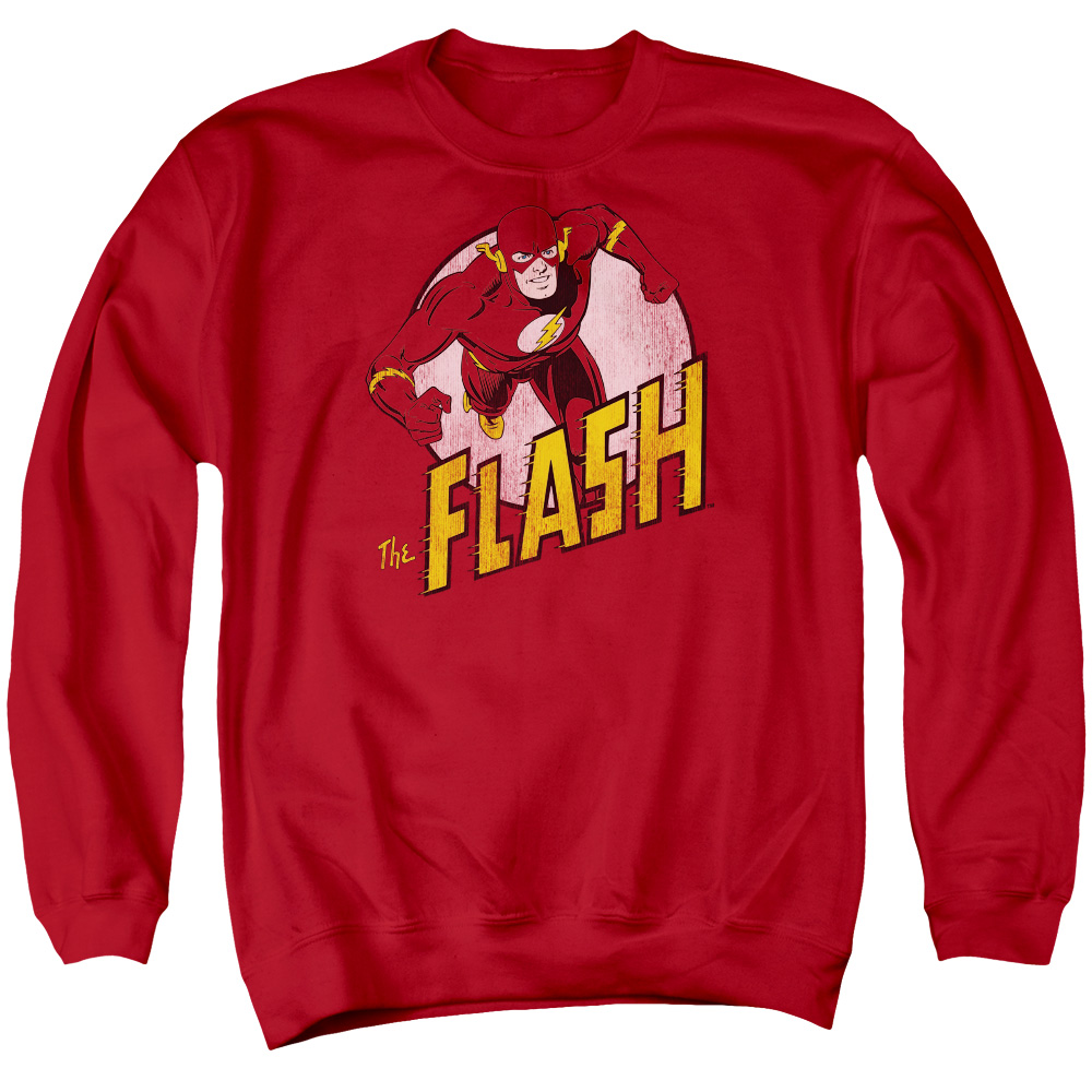 Dc The Flash Mens Crewneck Sweatshirt
