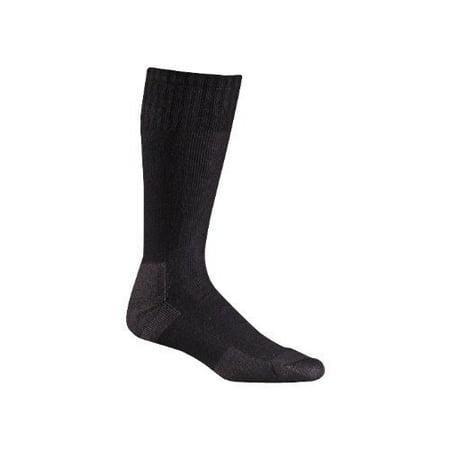 Fox River Adult Military Stryker Wick Dry Mid-Calf Boot Socks, Black,