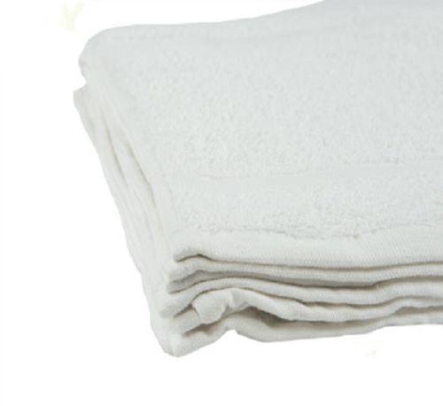 "GHP 240-Pcs White 12""x12"" Cotton Terry Cloth Absorbent Ki..."