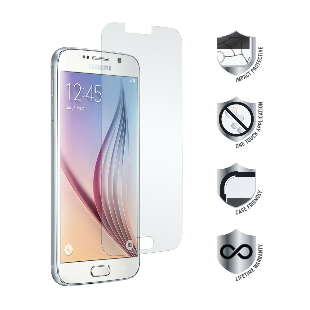 BTI Battery TS-TG-406 Galaxys6 Tempered Glass Prtctr