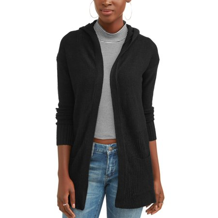 Women's Hooded Two Pocket Cardigan