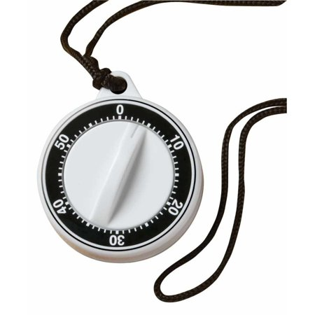 Norpro 60-Minute Plastic Timer With Rope & Magnet On Back, Long Loud Ringer (Norpro Egg Timer)