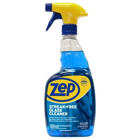Zep Streak-Free Glass Cleaner, 32 oz (Zen Spray)