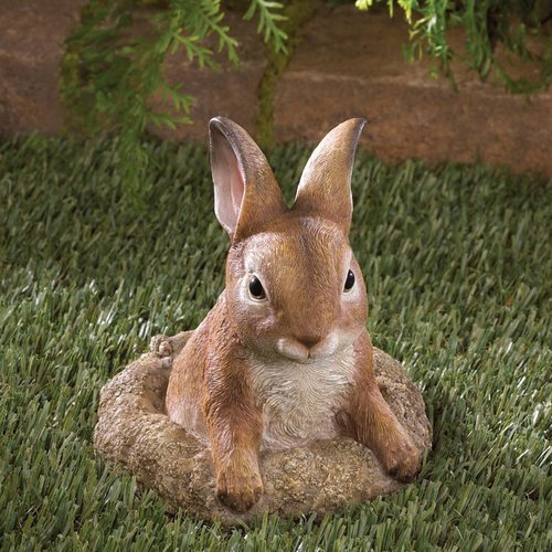 Zingz & Thingz Curious Bunny Garden Decor Statue