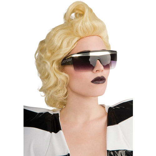 Lady Gaga Glasses Adult Halloween Accessory