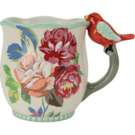 - Flea Market Bird: Hello There Figural Fun Mug