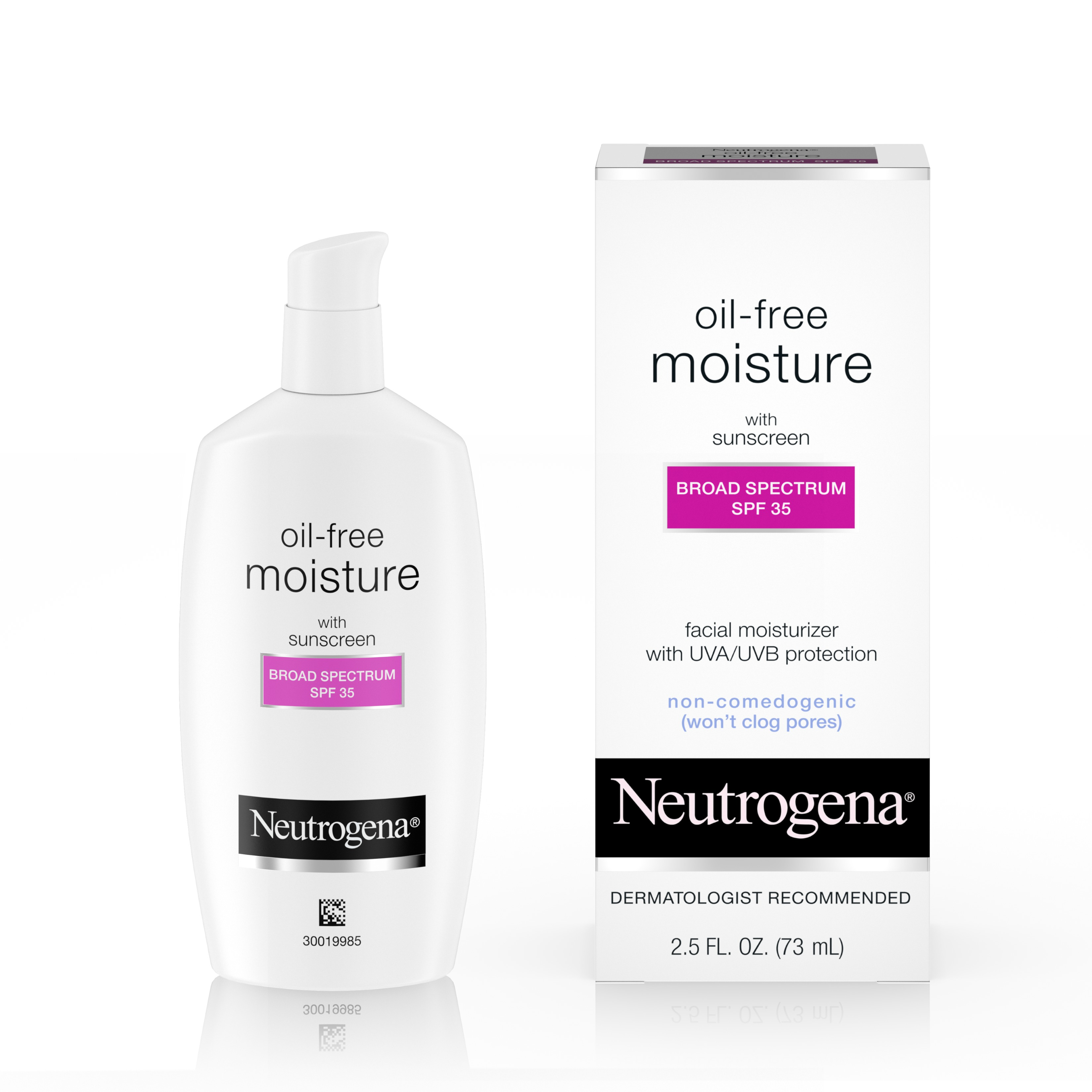 Neutrogena Oil-Free Daily Facial Moisturizer with SPF 35, 2.5 fl. oz