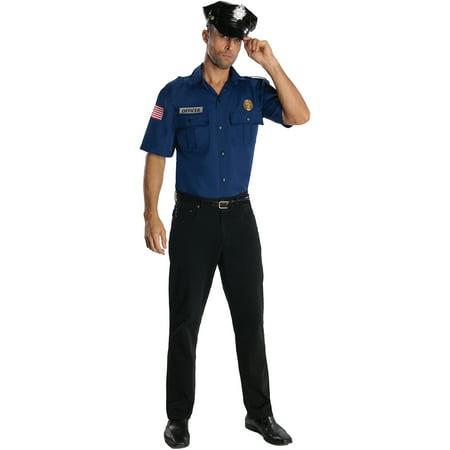 88c4ae26e6a Police Officer Mens Halloween Costume - Walmart.com