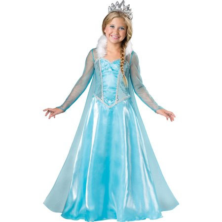 Child Snow Princess Costume by Incharacter Costumes LLC 7055](Kids Snow Leopard Costume)