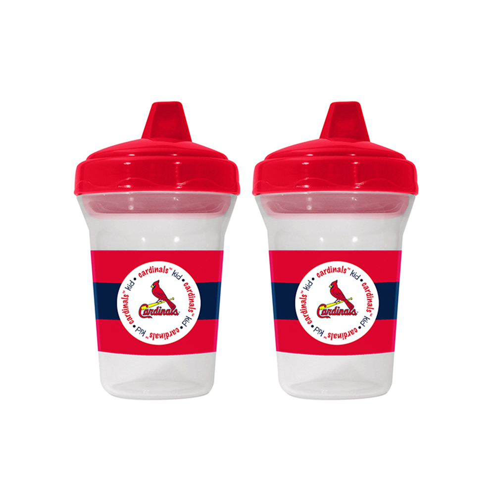 Baby Fanatic BFA-SLC122 St. Louis Cardinals Mlb 5oz Sippy Cup [2 Pack]