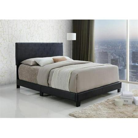 Myco Furniture 8740 F Esp Espresso Jessica Full Size Bed Walmart