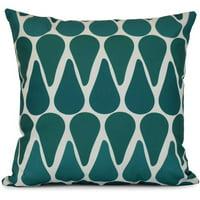 Simply Daisy, Watermelon Seeds, Geometric Print Outdoor Pillow