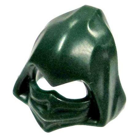 LEGO Minifigure Parts Dark Green Masked Cowl & Hood