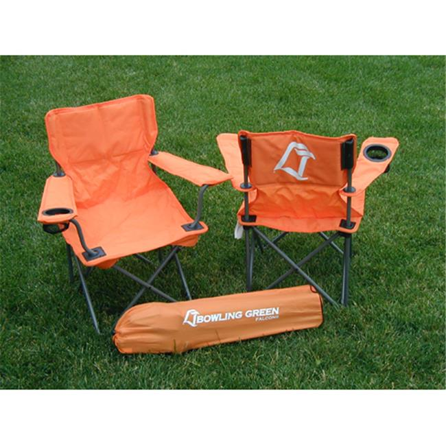 Rivalry Distributing RIV-RV126-1200 Bowling Green Falcons NCCA Ultimate Junior Tailgate Chair