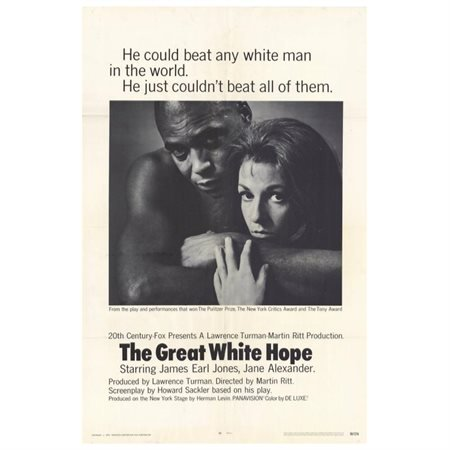 "The Great White Hope - movie POSTER (Style A) (11"" x 17"") (1970)"