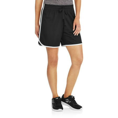 Athletic Works Active Women's Short Sleeve Shirred Yoga Tee Side.