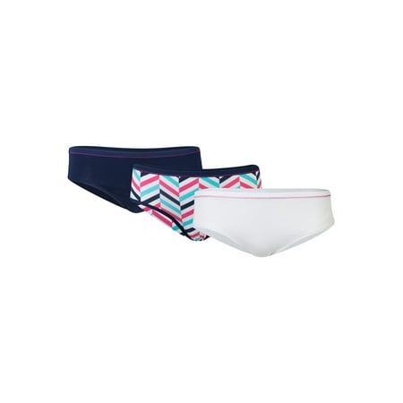 Women's Stretch Cotton Hipster Underwear, 3-Pack (Cotton Stretch Underwear Women)