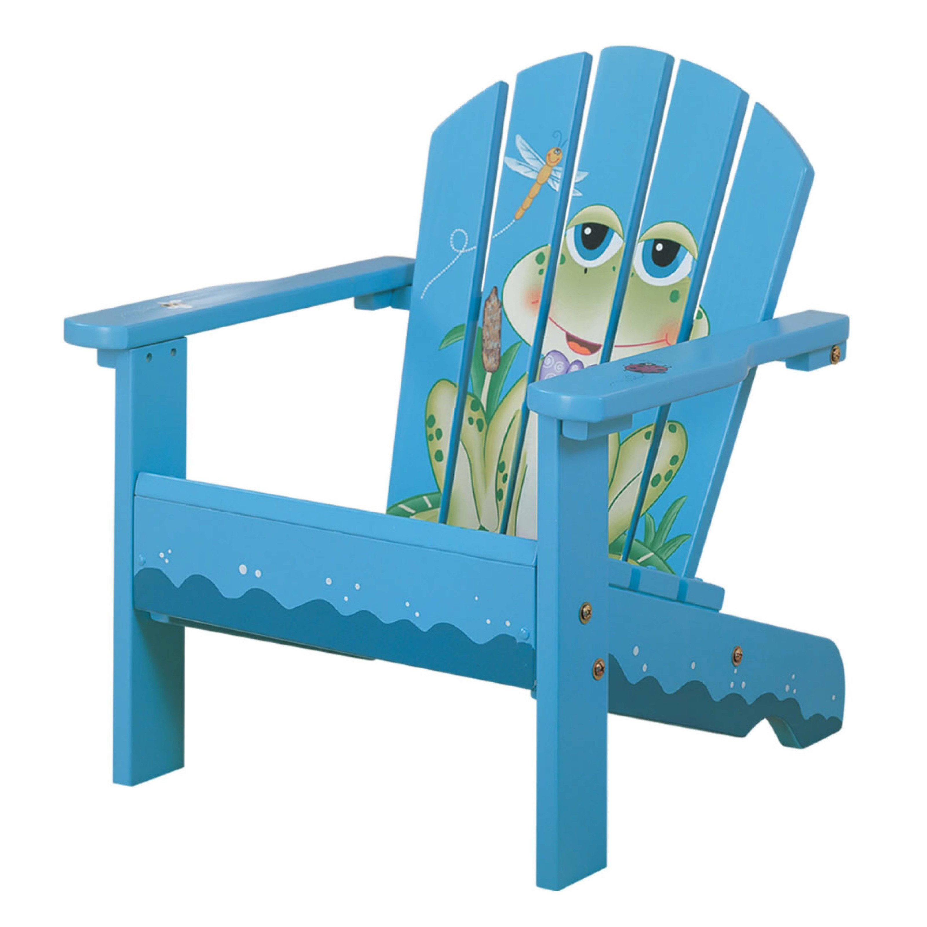 sc 1 st  Walmart & Fantasy Fields Frog Kids Adirondack Chair - Walmart.com