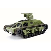 """Ripsaw """"Fast & Furious"""" F8 Movie, Halo Primer Green - Jada 98946 - 1/24 Scale Diecast Model Toy Car"""