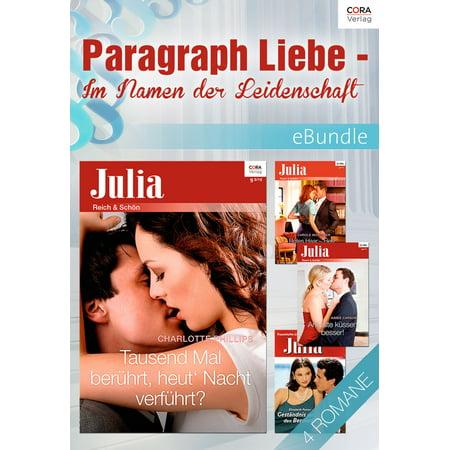 Paragraph Liebe - Im Namen der Leidenschaft - (Best Paragraphs In Literature)