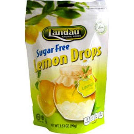 Landau Kosher Sugar Free Lemon Drops - 3.53 OZ (Candy Crush Sugar Drops Best Levels)
