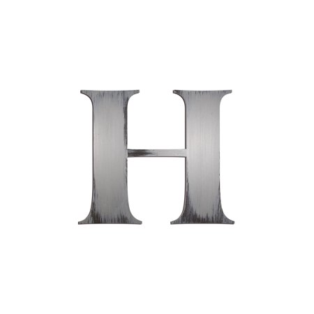 Individual Block Letters Wall Decor Letter H