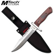 "8"" Fixed Blade Satin Finish Multi-Colored"