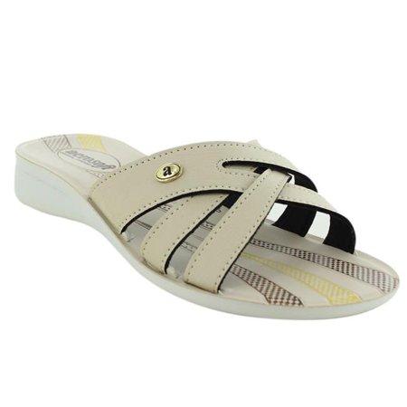 - Aerosoft Footwear C2011CreamUS Women 8 Gladiator Women Sandals - Cream, US Size 8