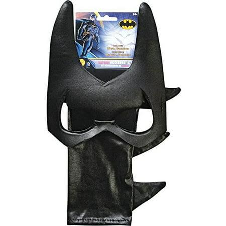 Batgirl DC Comics Costume Accessory Set Gauntlets And Mask](Dc Comics Halloween Masks)