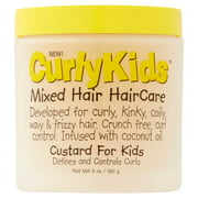 CurlyKids Mixed Hair Kids Custard, 6 fl oz