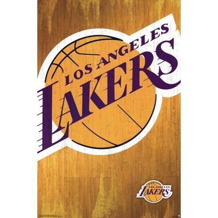 Los Angeles Lakers - Logo 13 Poster Poster Print - Walmart.com