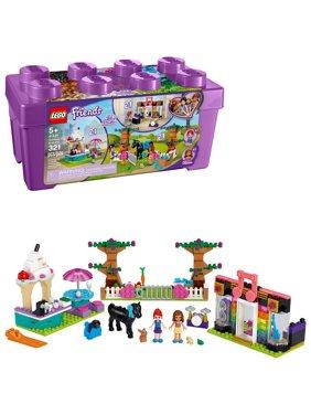 LEGO Friends Heartlake City Brick Box 41431 Building Kit; Make 6 Scenes from 1 Box for Creative Fun (321 Pieces)