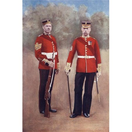 Posterazzi DPI1872842 The Grenadier Guards In Uniform of The Late 19th Century From South Africa & The Transvaal War, by Louis Creswicke Published 1900 Poster Print, 11 x 18 - image 1 of 1