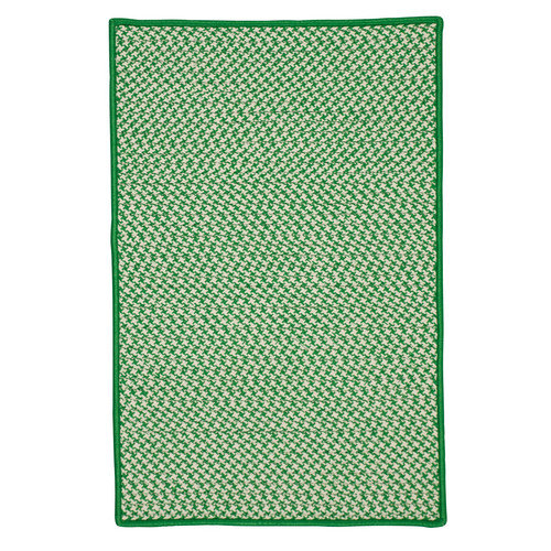 Colonial Mills Houndstooth Tweed Green Indoor/Area Rug