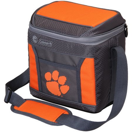 Clemson Tigers Coleman 9-Can 24-Hour Soft-Sided Cooler - No Size