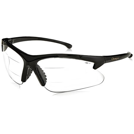 Jackson 20389, 2.5 Magnification Bifocals; spec 30-06 dual rx blk/c [PRICE is per EACH], By Smith