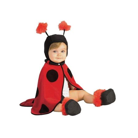 Baby Lady Bug Cape Costume - Toddler Lady Bug Costume