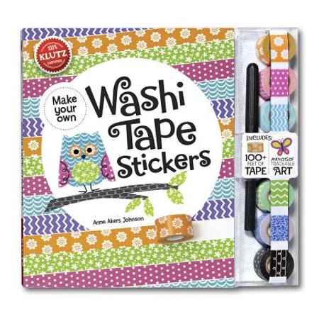 Make Your Own Washi Tape Stickers : Shape This Tape Into Crazy Cute