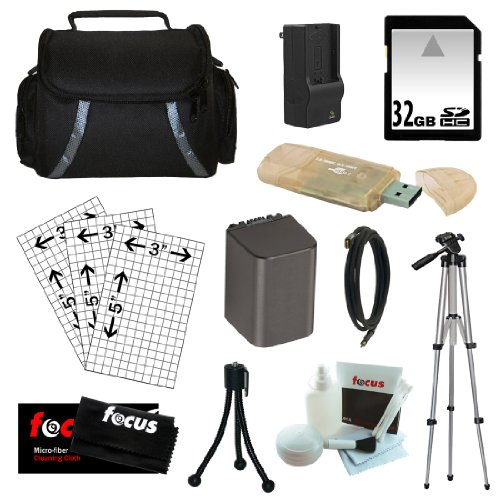 Essential Accessory Kit for Sony Handycam Camcorder HDR-C...