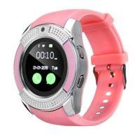 Smartwatch bluetoooth Smart Wrist Fitness Tracker Pedometer Remote Camera Call Reminders Wristwatches bluetooth Smart Watch V8 Smartwatch SD(TF) SIM Card With Camera