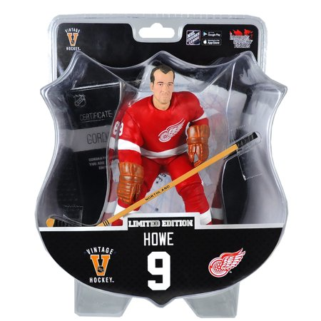 Gordie Howe (Detroit Red Wings) Red Jersey Limited Edition Exclusive 2017-18 NHL Legend 6