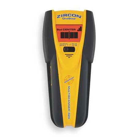 Zircon Electronic Stud Finder, Professional, Multifunction, Center-Finding, 61910 by Zircon
