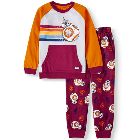 Star Wars 2-Piece Long Sleeve Long Pant Pajama Set (Little Boys and Big Boys)