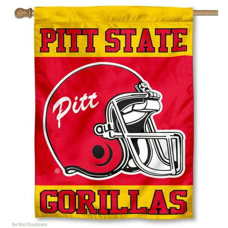 Flag Italy Helmet - Pitt State Gorillas Football Helmet 30