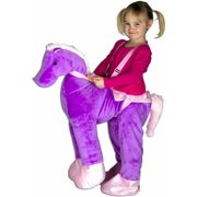 Purple Horse Rider Toddler Halloween Costume