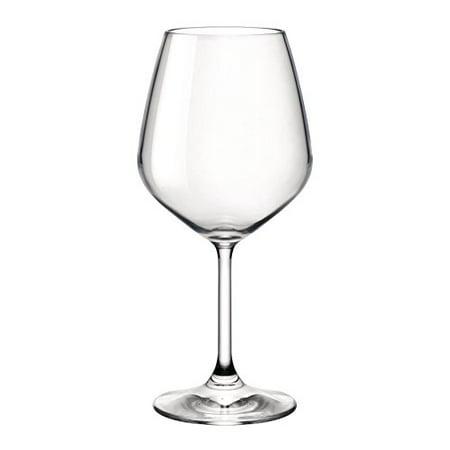 Bormioli Rocco 4 Piece Restaurant Red Wine Glasses, 18 oz, Clear